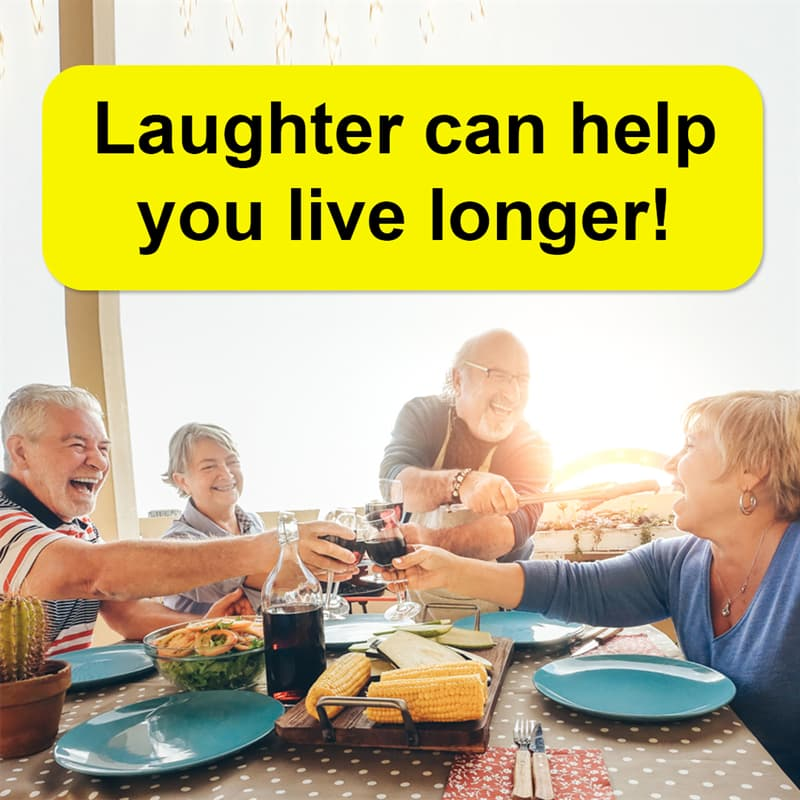 Science Story: Laughter can help you live longer