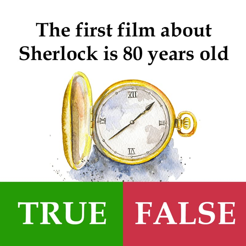 Culture Story: The first film about Sherlock is 80 years old