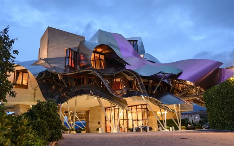 Culture Story: #4 Marques de Riscal Hotel in Spain, Elciego