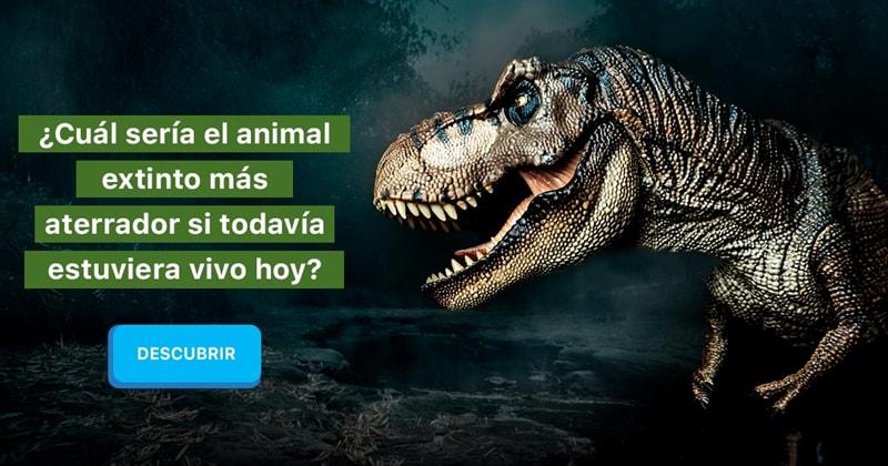 Сiencia Historia: ¿Cuál sería el animal extinto más aterrador si todavía estuviera vivo hoy?