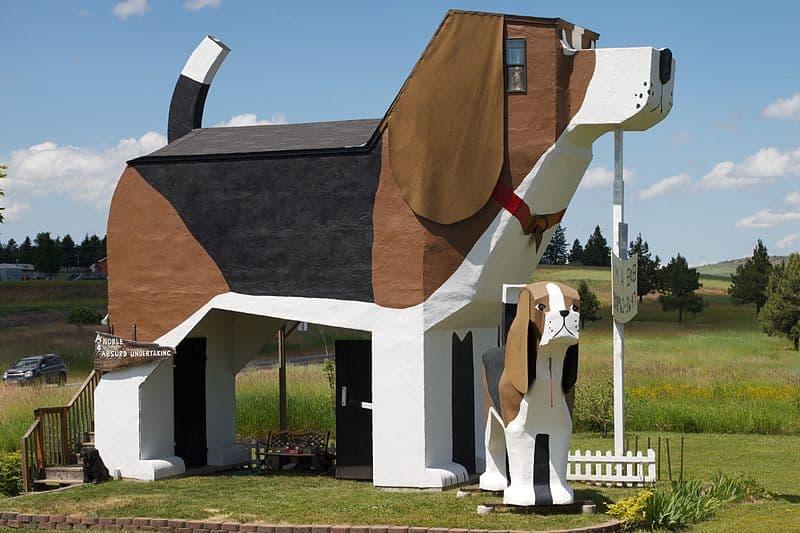 Culture Story: #8 Dog Bark Park Inn in USA, Idaho