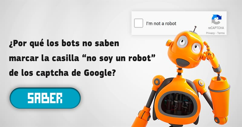 """Сiencia Historia: ¿Por qué los bots no saben marcar la casilla """"no soy un robot"""" de los captcha de Google?"""