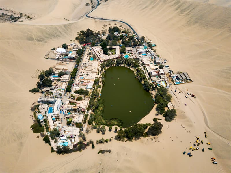 Geography Story: #11 Man-made oasis in the desert