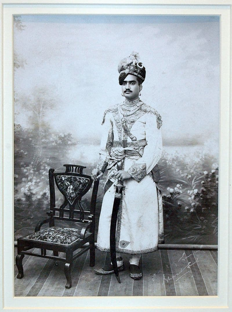 History Story: #22 An Indian Prince, the date is unknown