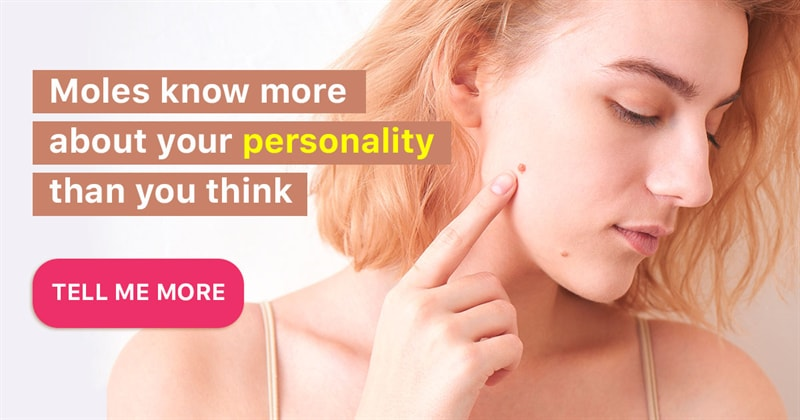 Personality Story: What do your moles on the body say about you?