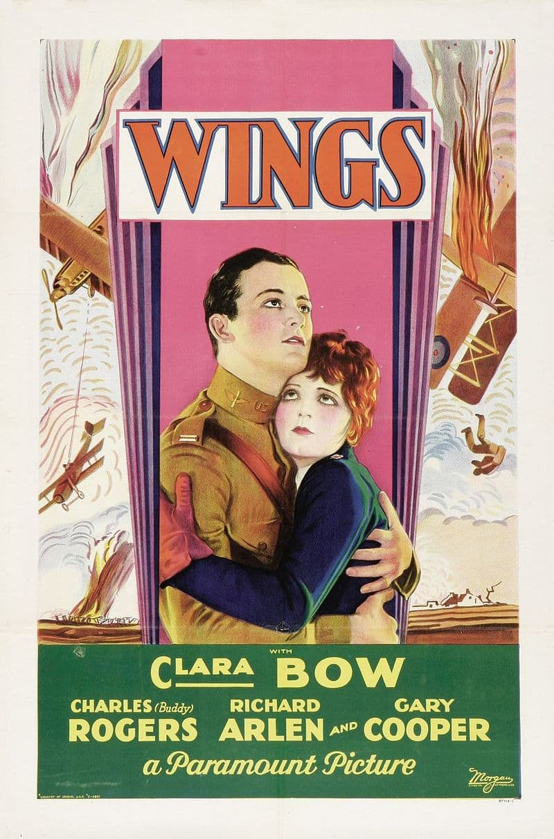 "Culture Story: #2 THE FIRST BEST PICTURE: ""Wings"""