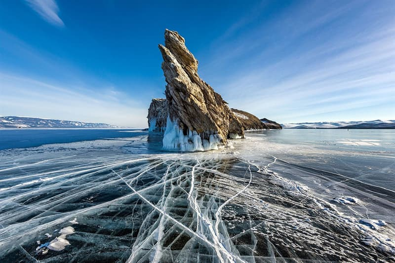 Geography Story: #20 Ogoy Island in Russia's Lake Baikal by Sergey Pesterev - 1st place, 2017