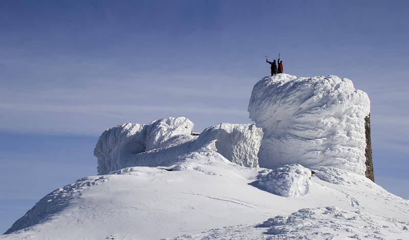 Geography Story: #5 Bily slon, the building on the peak of Pop Ivan, Carpathian Biosphere Reserve, Ivano-Frankivsk Oblast, Ukraine by Mykhailo Petskovych - 11th place, 2013