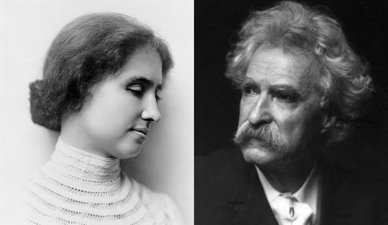 Culture Story: Helen Keller and Mark Twain examples of great friendships in history