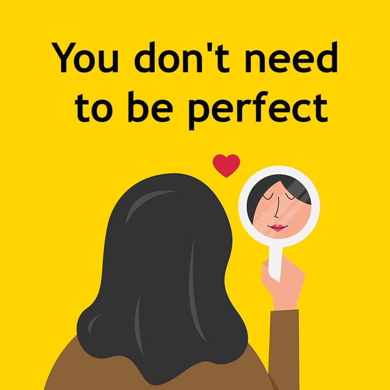 Society Story: You don't need to be perfect