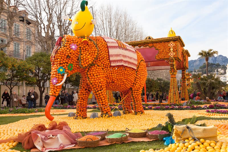 Geography Story: Menton lemon festival - 15 days in the fantasy world #10