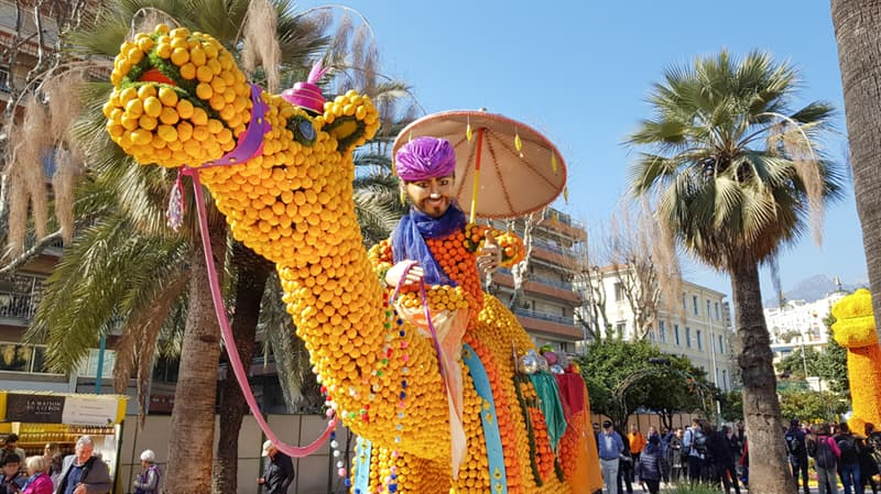 Geography Story: Menton lemon festival - 15 days in the fantasy world #9