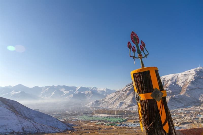 Geography Story: #11 Lhasa valley in winter