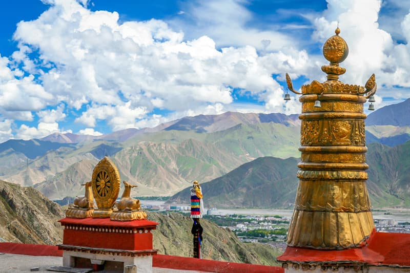 Geography Story: #3 A view from the Jokhang