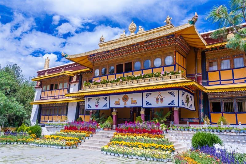 Geography Story: #6 Norbulingka Dalai Lama summer palace