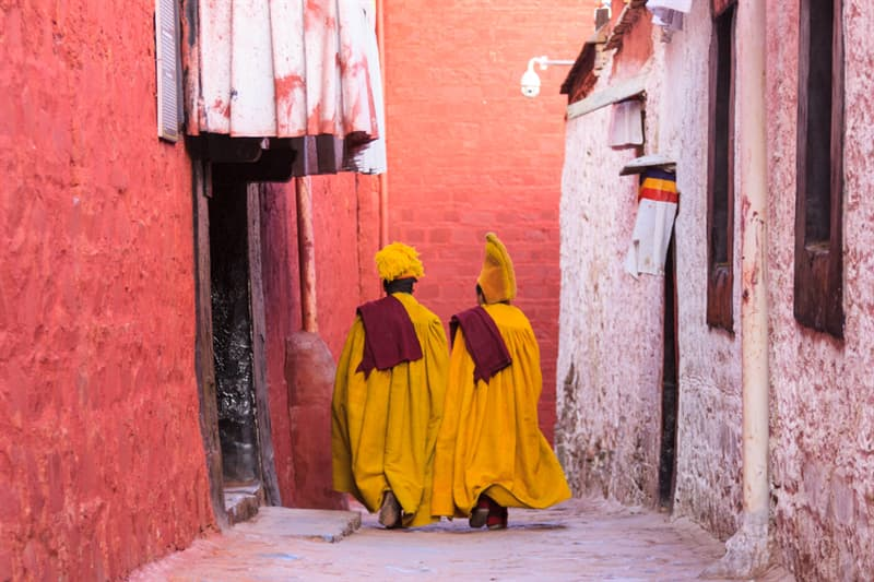 Geography Story: #7 Young monks
