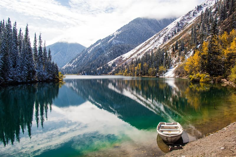 Geography Story: beautiful places to visit in Kazakhstan The Kolsai Lakes