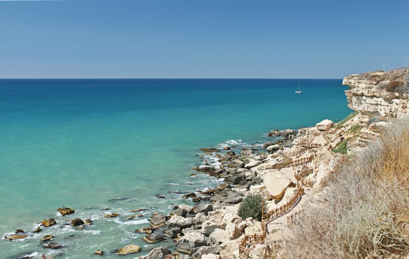 Geography Story: beautiful places to visit in Kazakhstan The Caspian Sea in Aktau