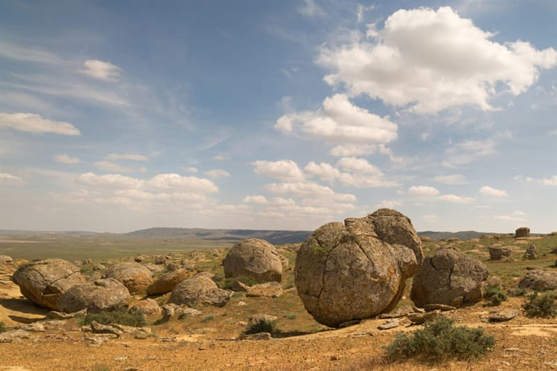 Geography Story: beautiful places to visit in Kazakhstan The Valley of Balls