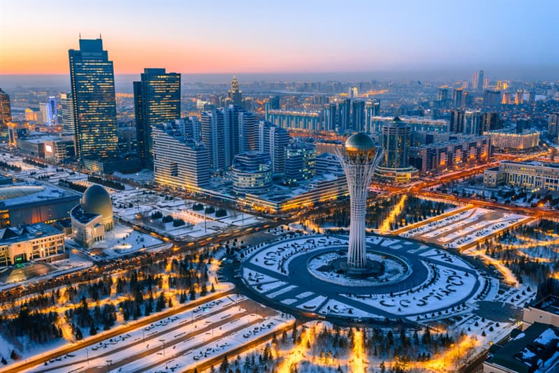 Geography Story: beautiful places to visit in Kazakhstan Nur-Sultan