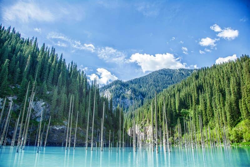 Geography Story: beautiful places to visit in Kazakhstan Lake Kaindy