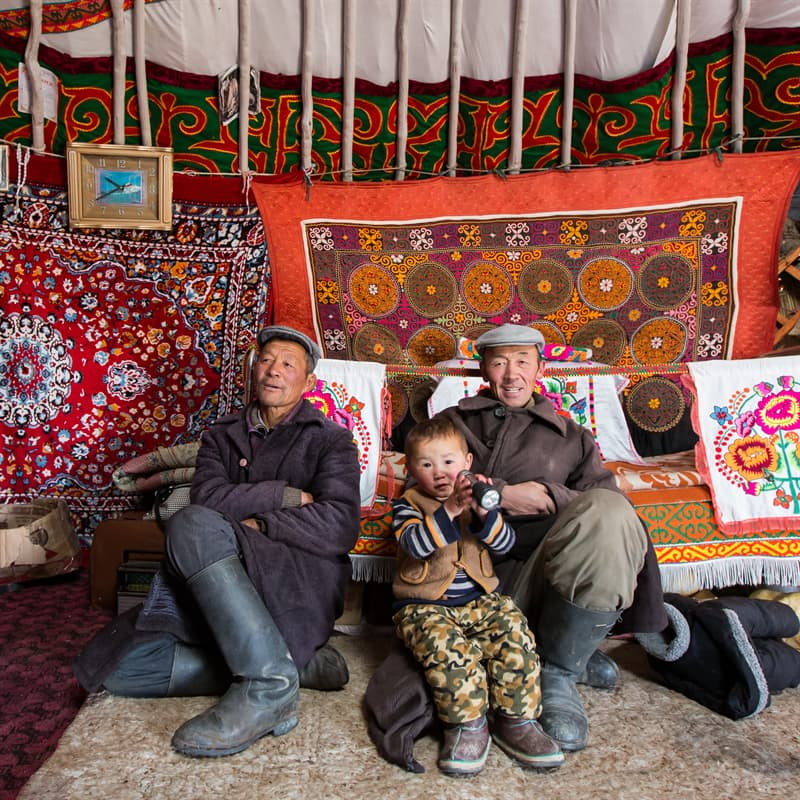 Geography Story: #11 Only 50% of nomads who start a new life in Ulaanbaatar live in flats or houses: the rest of them settle down in ger districts located on the outskirts of the capital due to the high price of other accommodation