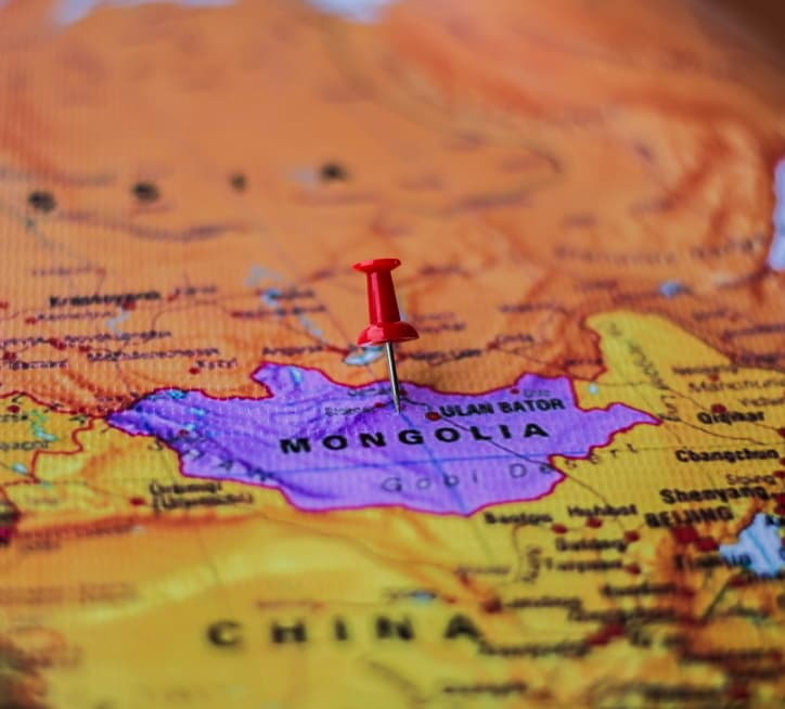 Geography Story: #2 In the 20th century, Mongolia was a satellite state of the Soviet Union. In 1990, it gained independence and became a free democratic country