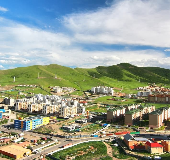 Geography Story: #4 Mongolia's capital, Ulaanbaatar, is the coldest capital city in the world – in January and February, the temperature there ranges between -15°C (5°F) and -40°C (-40°F). The average annual temperature is -1.3°C or 29.7°F