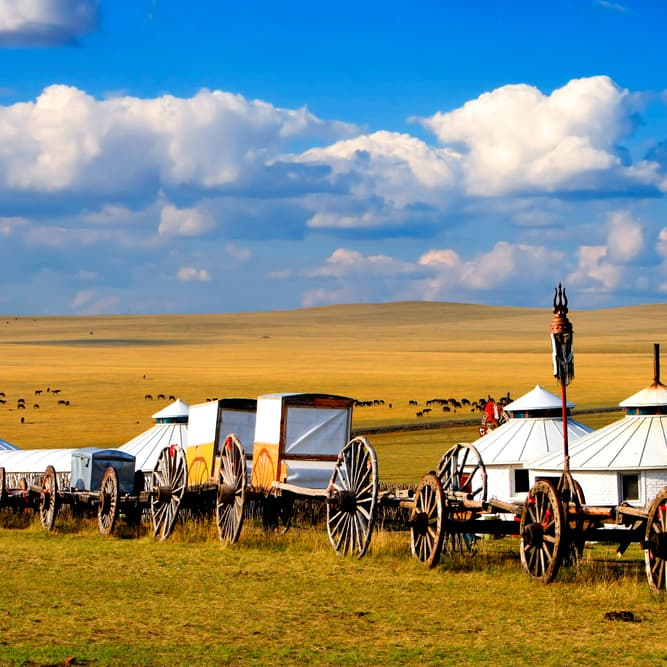 Geography Story: #5 An estimated 25 to 40 percent of modern Mongolians live as nomadic herders, just like their ancestors did hundreds and hundreds years ago