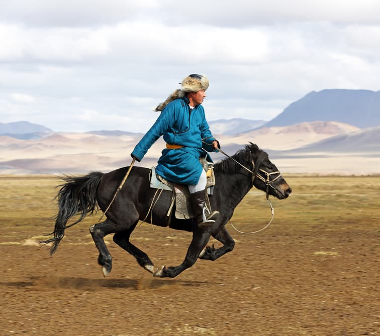 Geography Story: #7 Horses play an important role in Mongolian culture  – beyond Ulaanbaatar, the horse still remains the main means of transportation