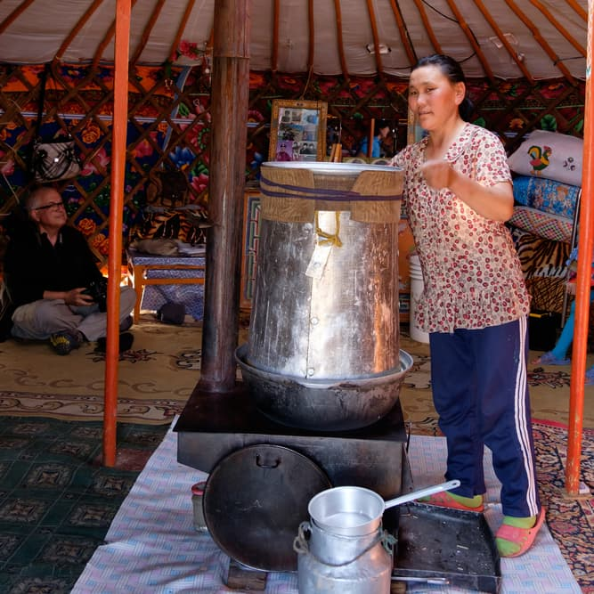 Geography Story: #8 Airag, a fermented dairy product made from a mare's milk, is a popular traditional beverage in Mongolia