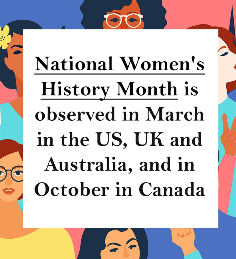 Culture Story: International Women's Day facts and International Women's Day history
