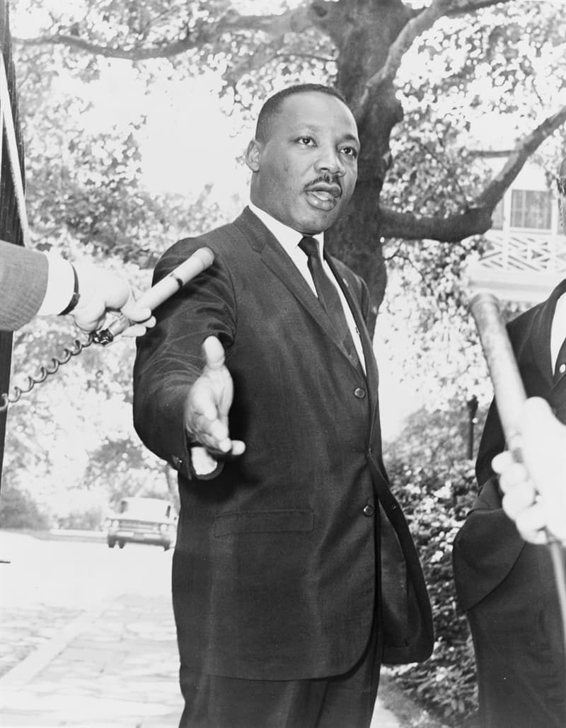 History Story: ​#3 Spreading his words of wisdom, Martin Luther King Jr. covered the distance of more than 6 million miles