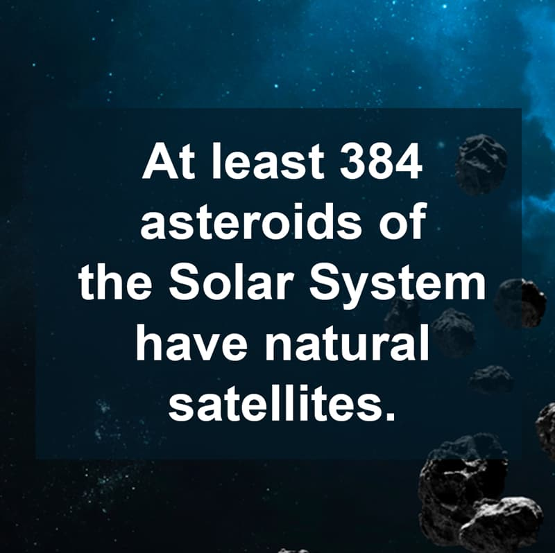 Science Story: Little-known facts about asteroids and their moons
