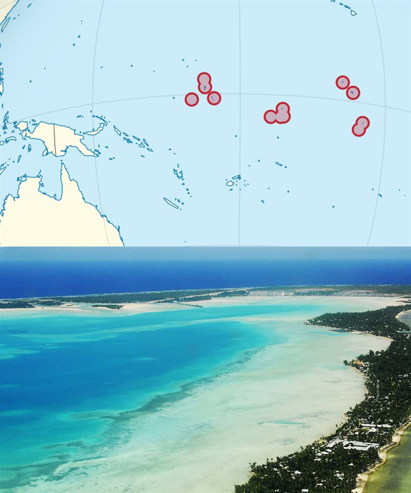 Geography Story: Countries you've never heard of: Kiribati