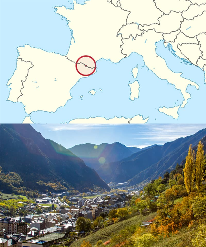 Geography Story: Countries you've never heard of: Andorra