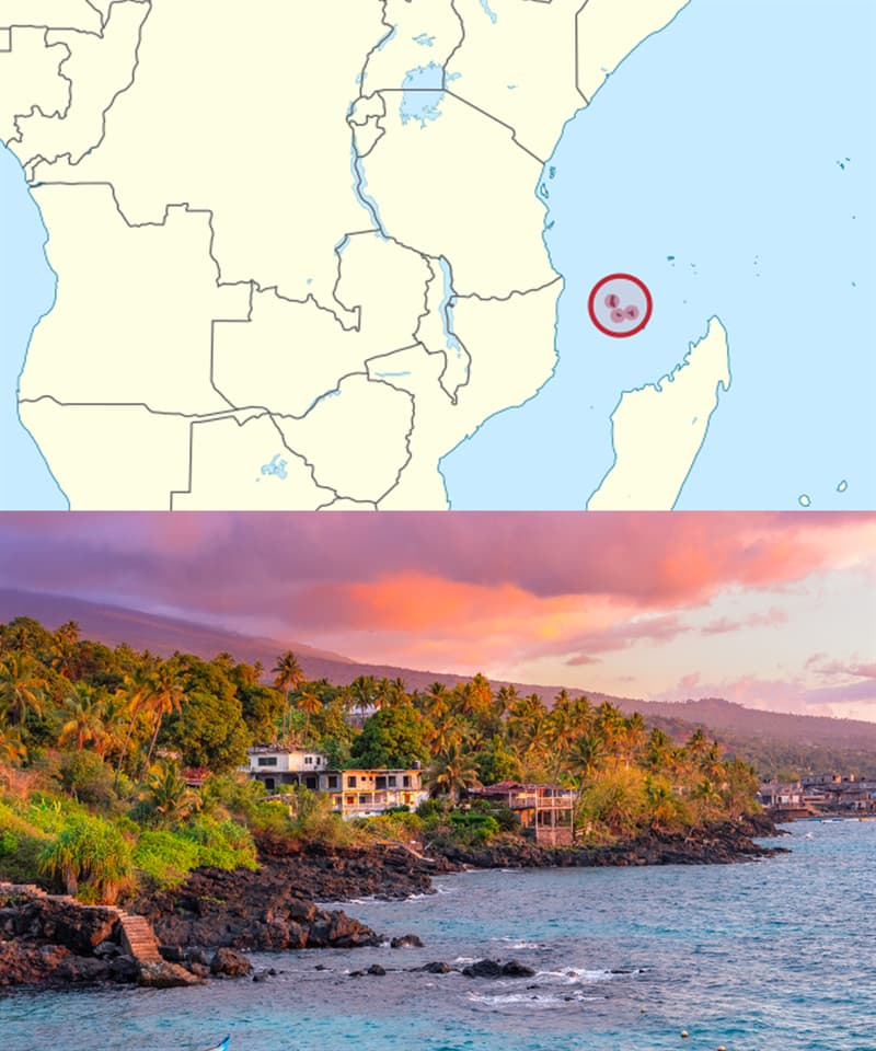 Geography Story: Countries you've never heard of: Comoros