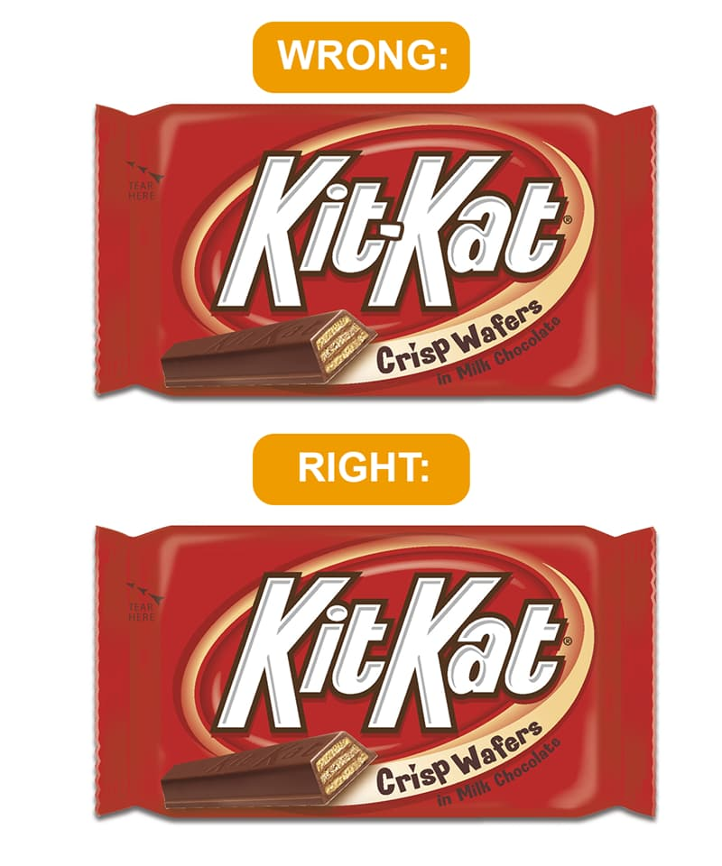 Culture Story: The Mandela effect examples: KitKat