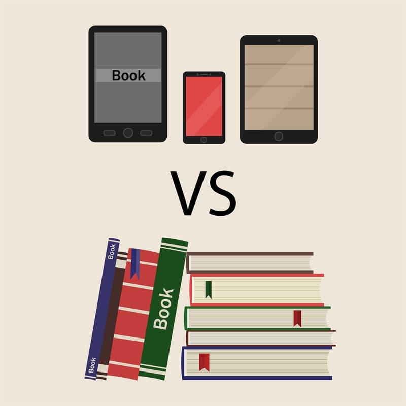 Science Story: Paper books vs e-books research
