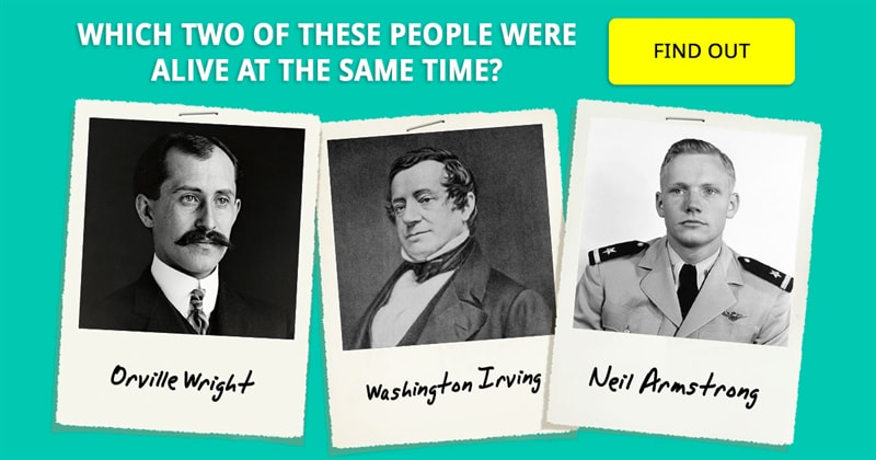 History Story: 6 pairs of historical figures you didn't realize were contemporaries