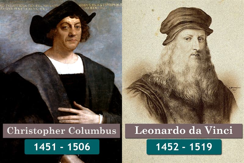 History Story: Unlikely historical contemporaries: Christopher Columbus and Leonardo Da Vinci