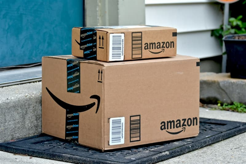 History Story: facts about Amazon shopping online cardboard