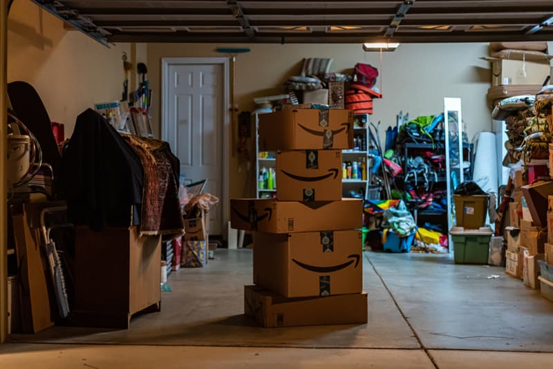History Story: facts about Amazon shopping online Amazon was born in a garage
