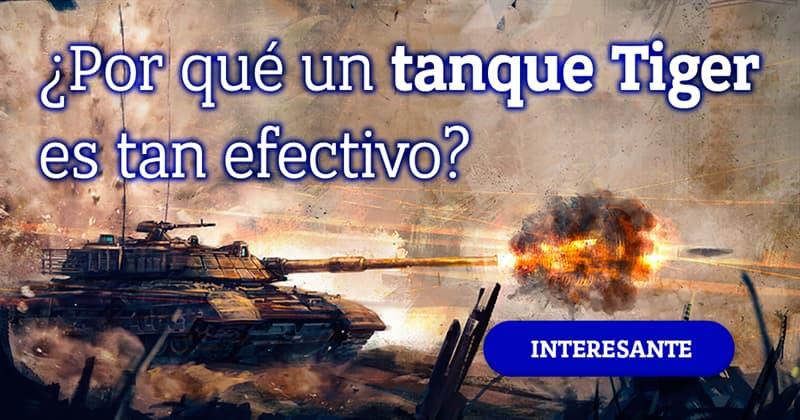 Сiencia Historia: ¿Es un tanque Tiger tan efectivo contra los tanques Sherman? ¿qué los hace tan efectivos?