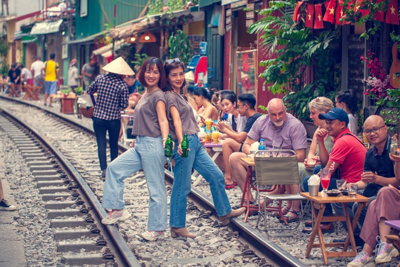 Geography Story: Hanoi Train Street