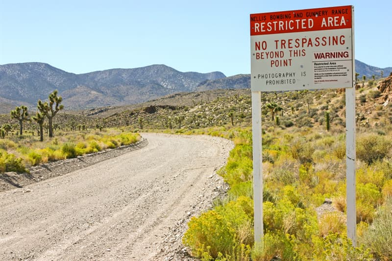 Geography Story: Area 51 United States US most restricted places on the planet Alien UFO