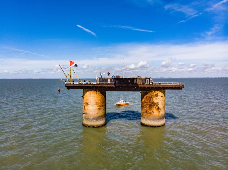 Geography Story: Roughs Tower Sealand most restricted places on the planet