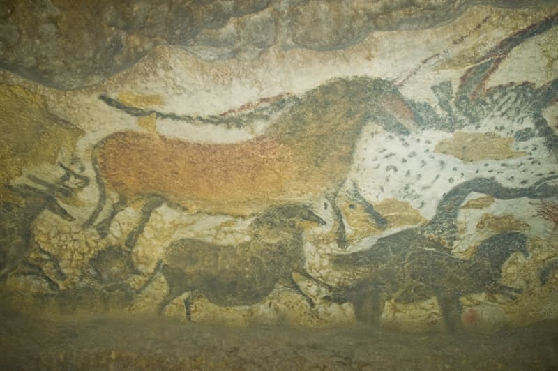 Geography Story: Lascaux Caves France most restricted places on the planet Palaeolithic cave paintings