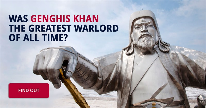 History Story: 5 facts about Genghis Khan, history's most fearsome conqueror