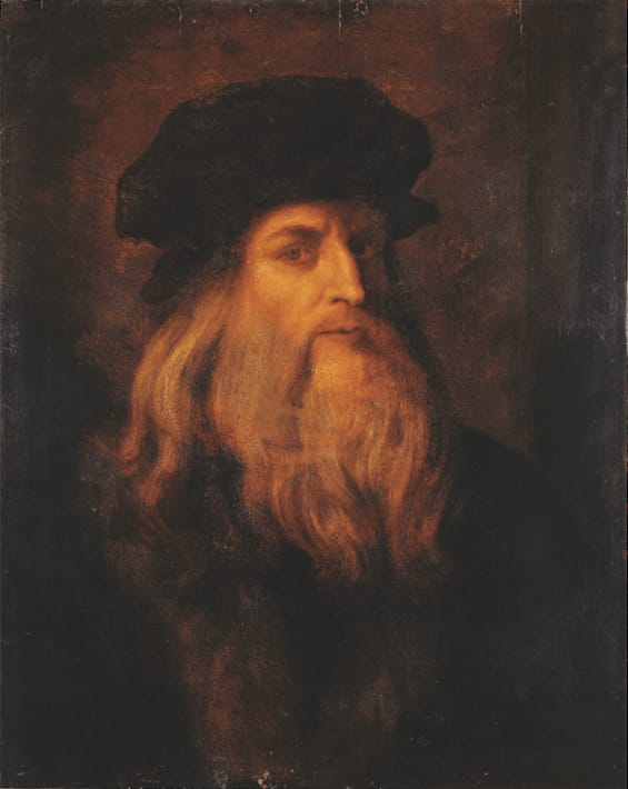Culture Story: Leonardo da Vinci self-portrait